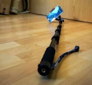 Selfie-Stick, ausziehbar