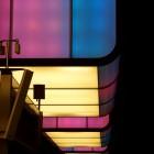 Licht an der Haltestelle Hafencity Universität