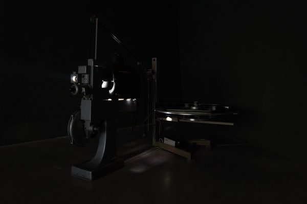 Der Projektor war fast interessanter als der Film im Eye FIlmmuseum. Fast.